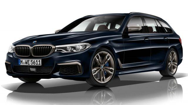 2017 BMW M550d xDrive wagon - front