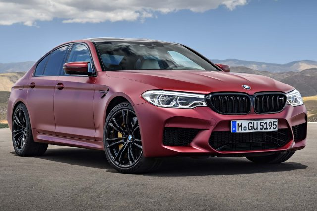 2018 F90 BMW M5 First Edition - Frozen Dark Red Metallic, front