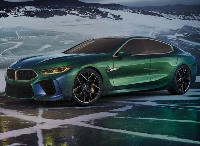 Bmw M8 Gran Coupe Concept 2018 Second Generation 8