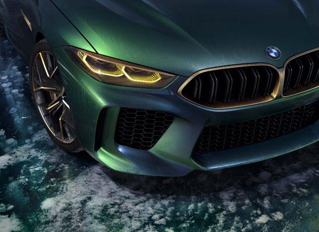 2018 BMW M8 Gran Coupe Concept - headlamps, grille