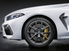 2020 BMW M8 with M Performance parts
