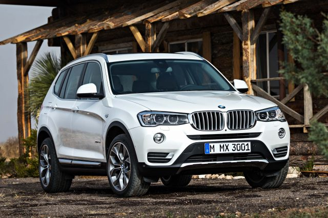 F25 BMW X3 facelift - front