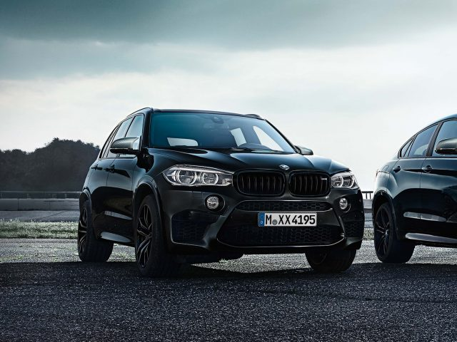 2017 BMW X5 Black Fire - front