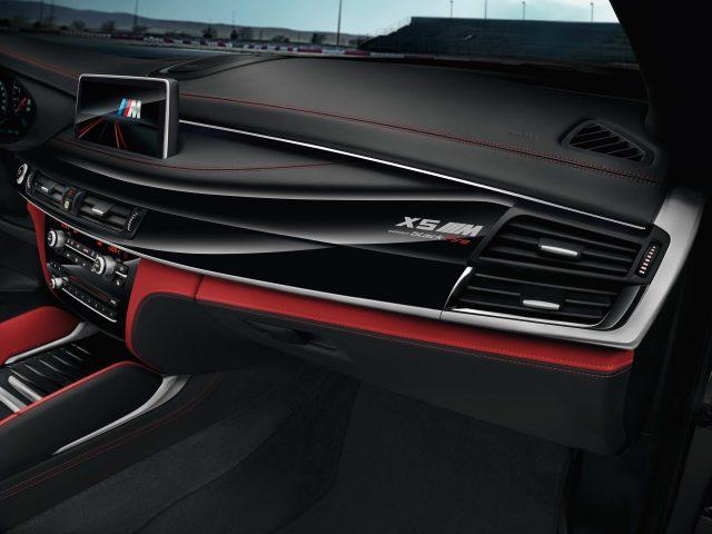 2017 BMW X5 Black Fire Edition - dashboard