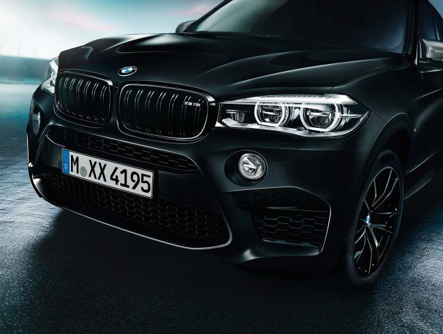 2017 BMW X5 Black Fire