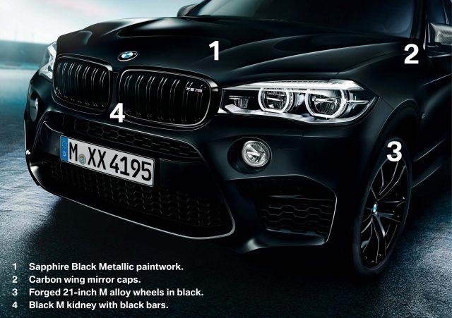 2017 BMW X5 Black Fire