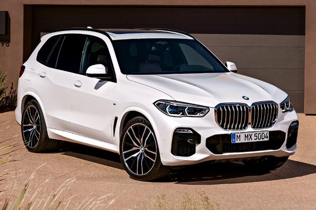 2019 BMW X5 - front, white
