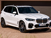 2019 BMW X5 - front, white