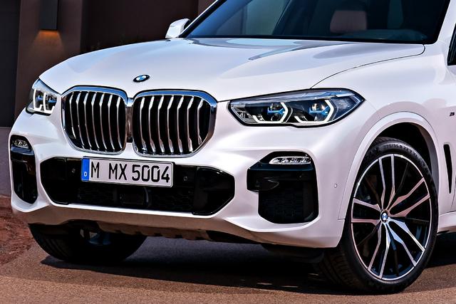 2019 BMW X5 - front fascia