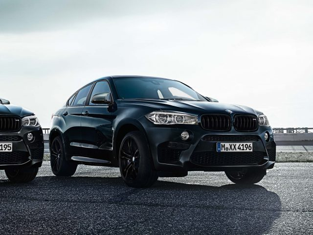 2017 BMW X6 Black Fire Edition - front