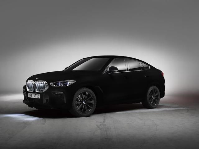 BMW X6 Vantablack at 2019 Frankfurt Auto Show