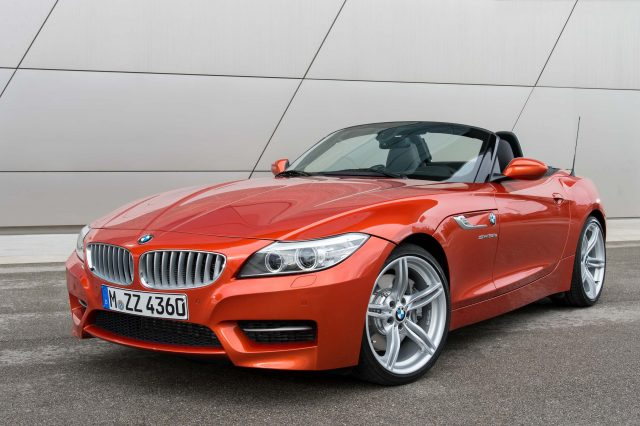 E89 BMW Z4 facelift - front, red