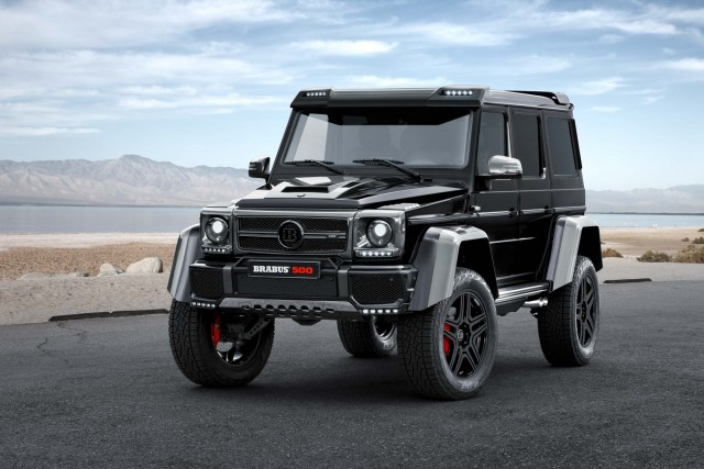 Brabus Mercedes-Benz G500 4x4² - front