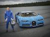 Bugatti Chiron life-size Lego model