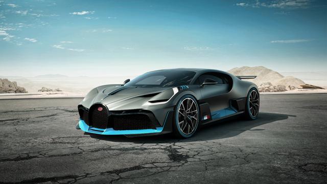 Bugatti Divo 2019 First Generation Photos Between The
