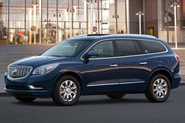 2017 Buick Enclave - front