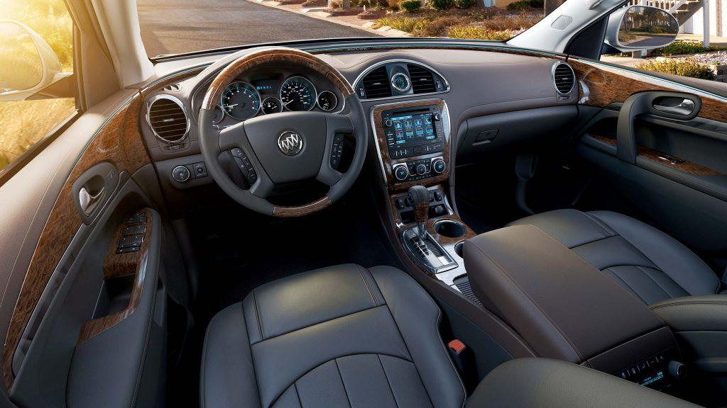 2014 Buick Enclave - interior, dashboard