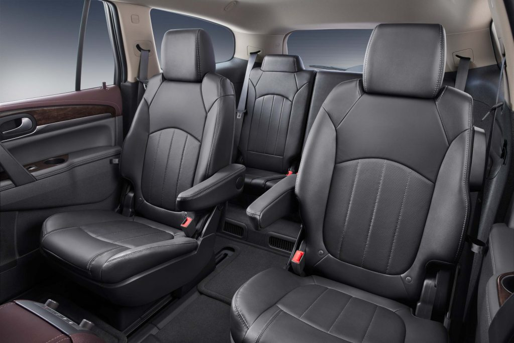 2017 Buick Enclave Interior - middle and rear seats