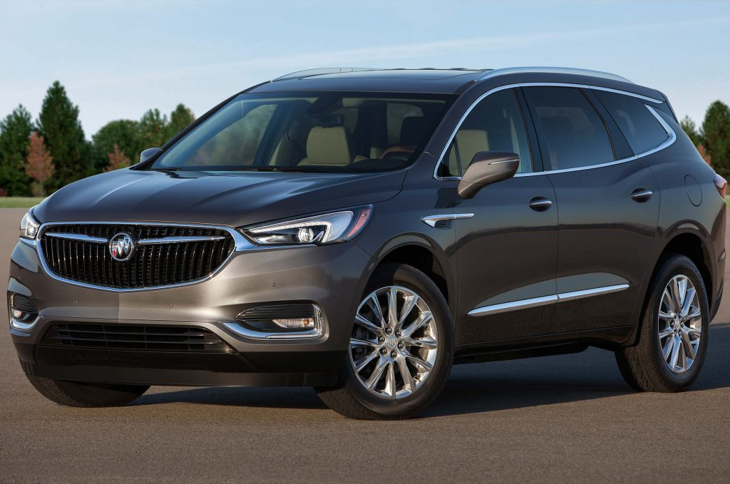 2018 Buick Enclave - front