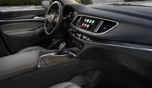 2018 Buick Enclave - interior, dashboard, front seats