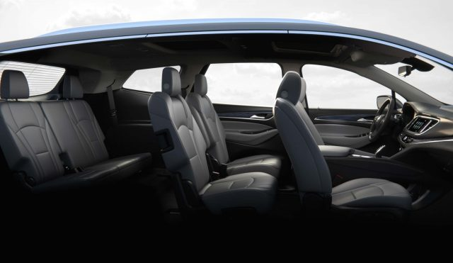 2018 Buick Enclave - 2+2+3 seating layout