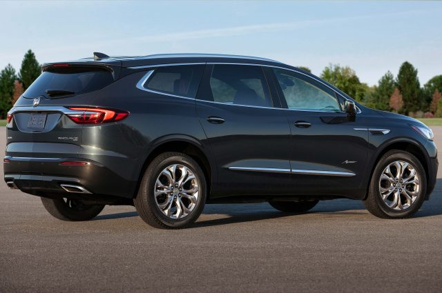 2018 Buick Enclave Avenir - rear