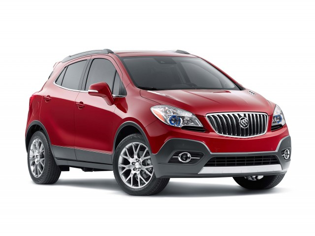 2016 Buick Encore Sport Touring - front
