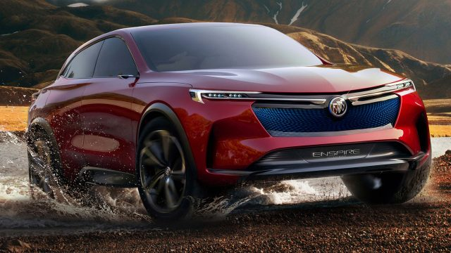 2018 Buick Enspire concept - front, red