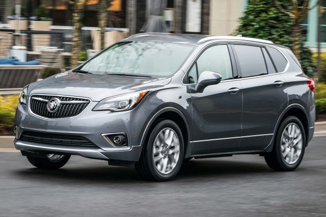2019 Buick Envision facelift - front, gray