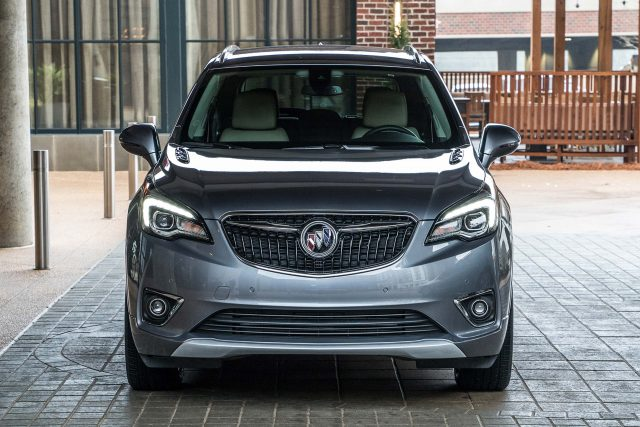 2019 Buick Envision facelift - new grille, fascia