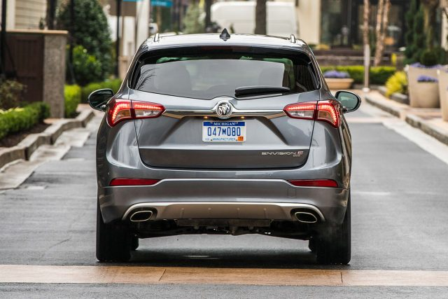 2019 Buick Envision facelift - rear