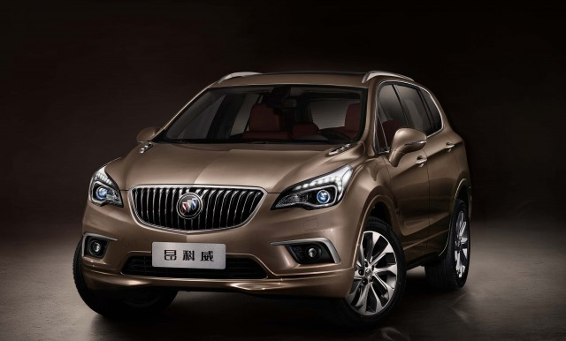 Buick Envision - front