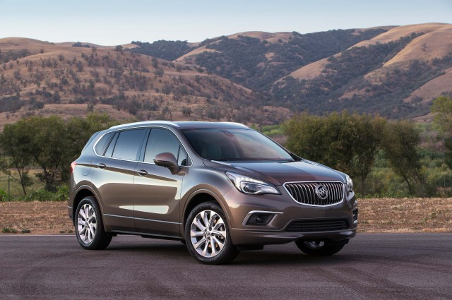 2016 Buick Envision - Front 3/4