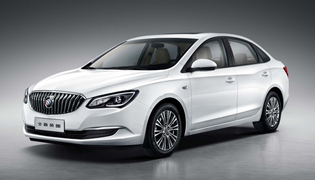 2015 Buick Excelle GT sedan - front