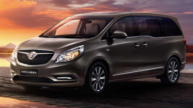 2017 Buick GL8 25S - front