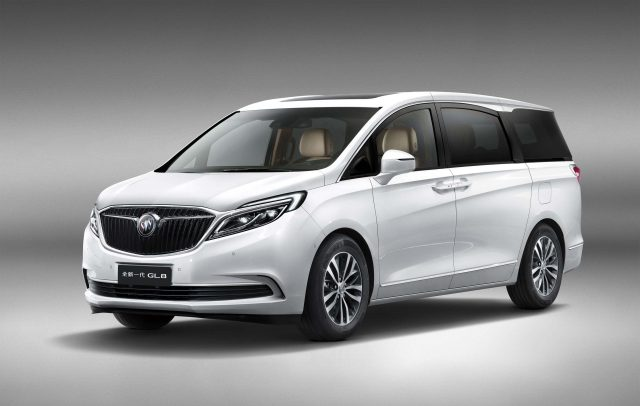 2017 Buick GL8 - front, white