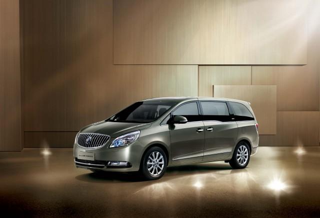 Buick GL8 Luxury minivan - front