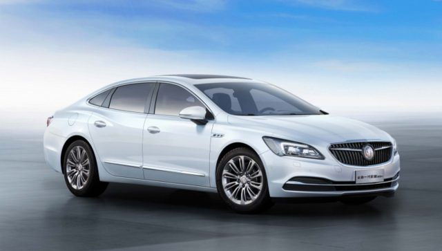 2016 Buick LaCrosse Hybrid (China) - front