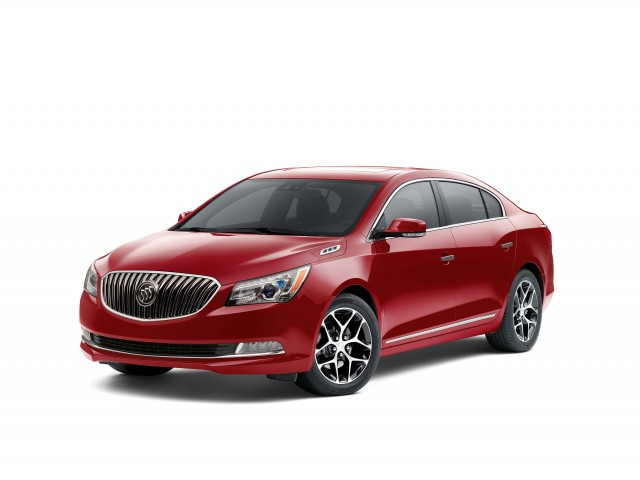 2016 Buick LaCrosse Sport Touring - front