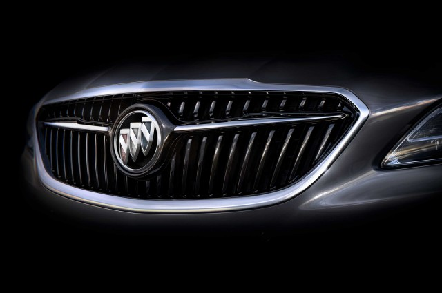 2017 Buick LaCrosse grille teaser