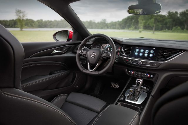 2018 Buick Regal GS - interior, dashboard