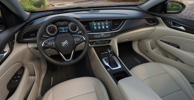 2018 Buick Regal Sportback - interior, dashboard, cream leather