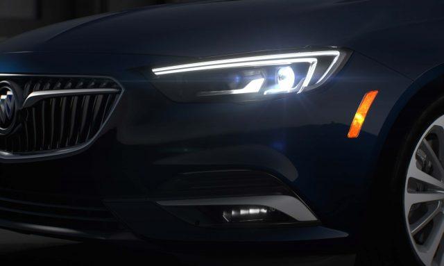 2018 Buick Regal Sportback - IntelliLux LED headlamps