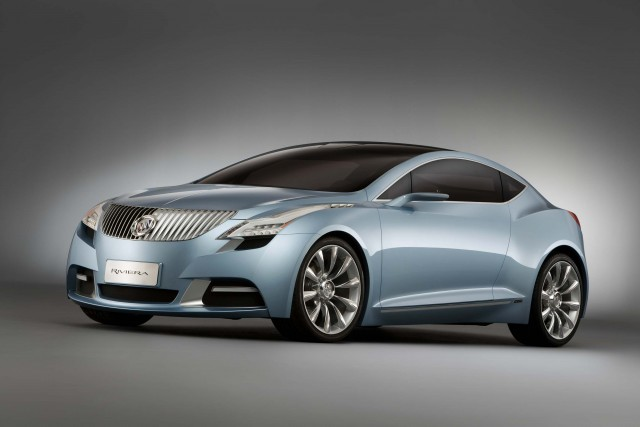 2007 Buick Riviera concept - front