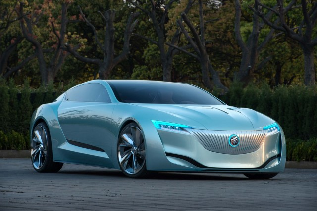 2013 Buick Riviera concept - front