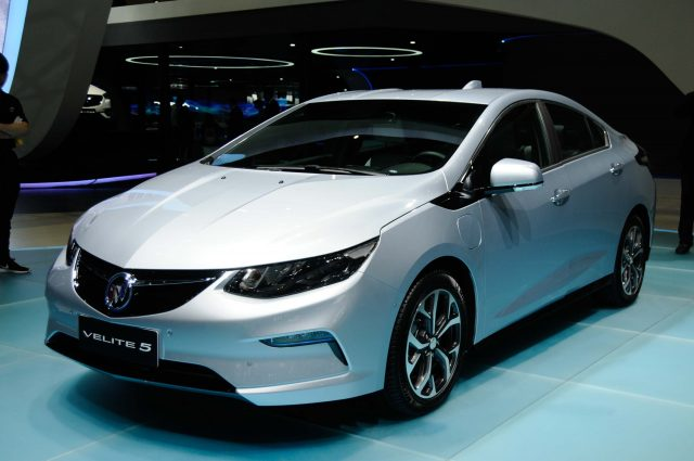 2017 Buick Velite 5 - front, silver