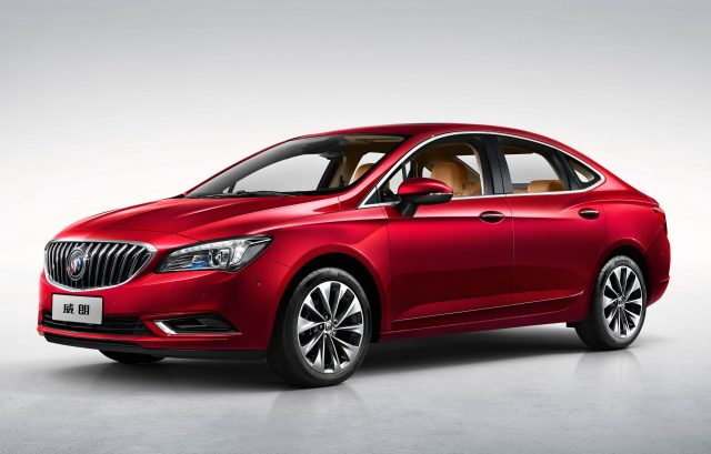 2017 Buick Verano - front, red