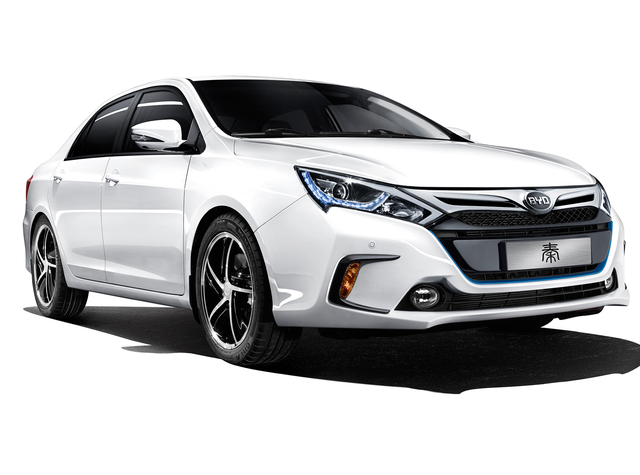 BYD Qin - front, white