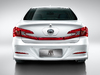 BYD Qin - rear, white