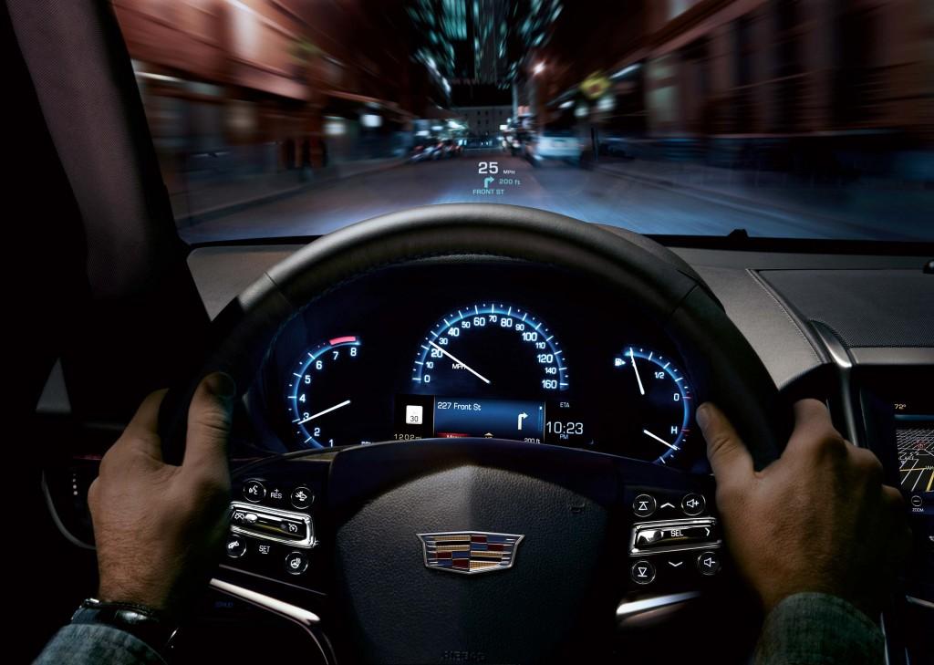 MY2015 Cadillac ATS sedan